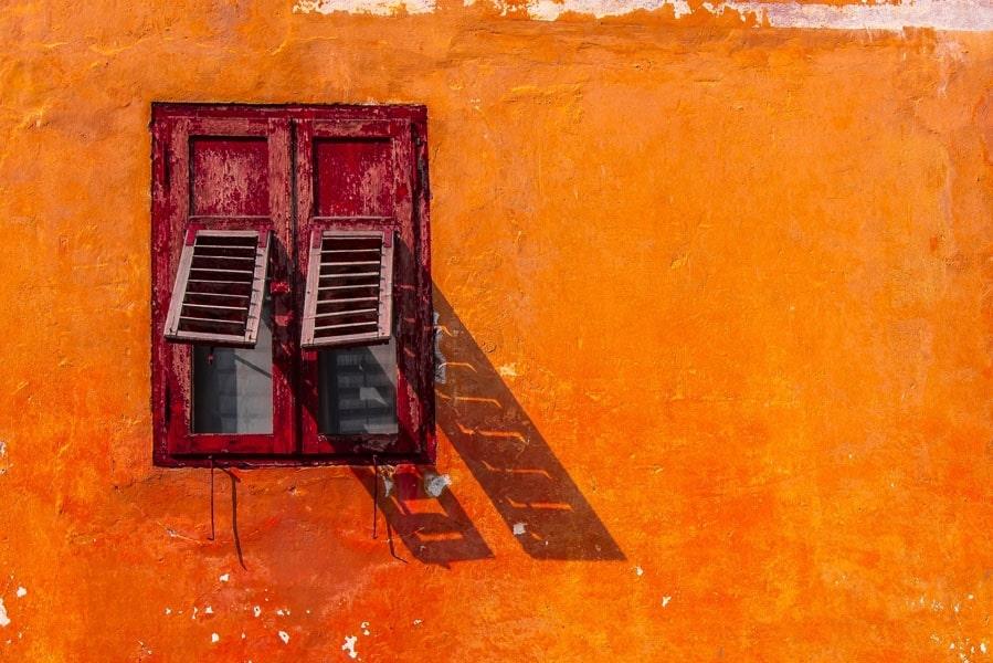Image of Włochy, predazzo okiennice - plakat premium wymiar do wyboru: 100x70 cm