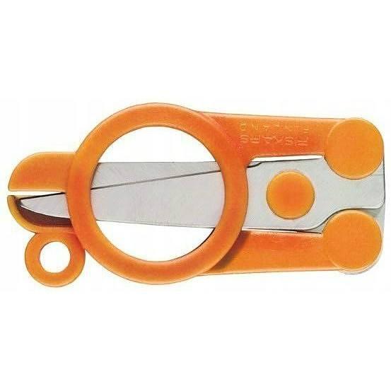 Image of Fiskars classic pomarańczowe - nożyczki biurowe składane ze stali nierdzewnej