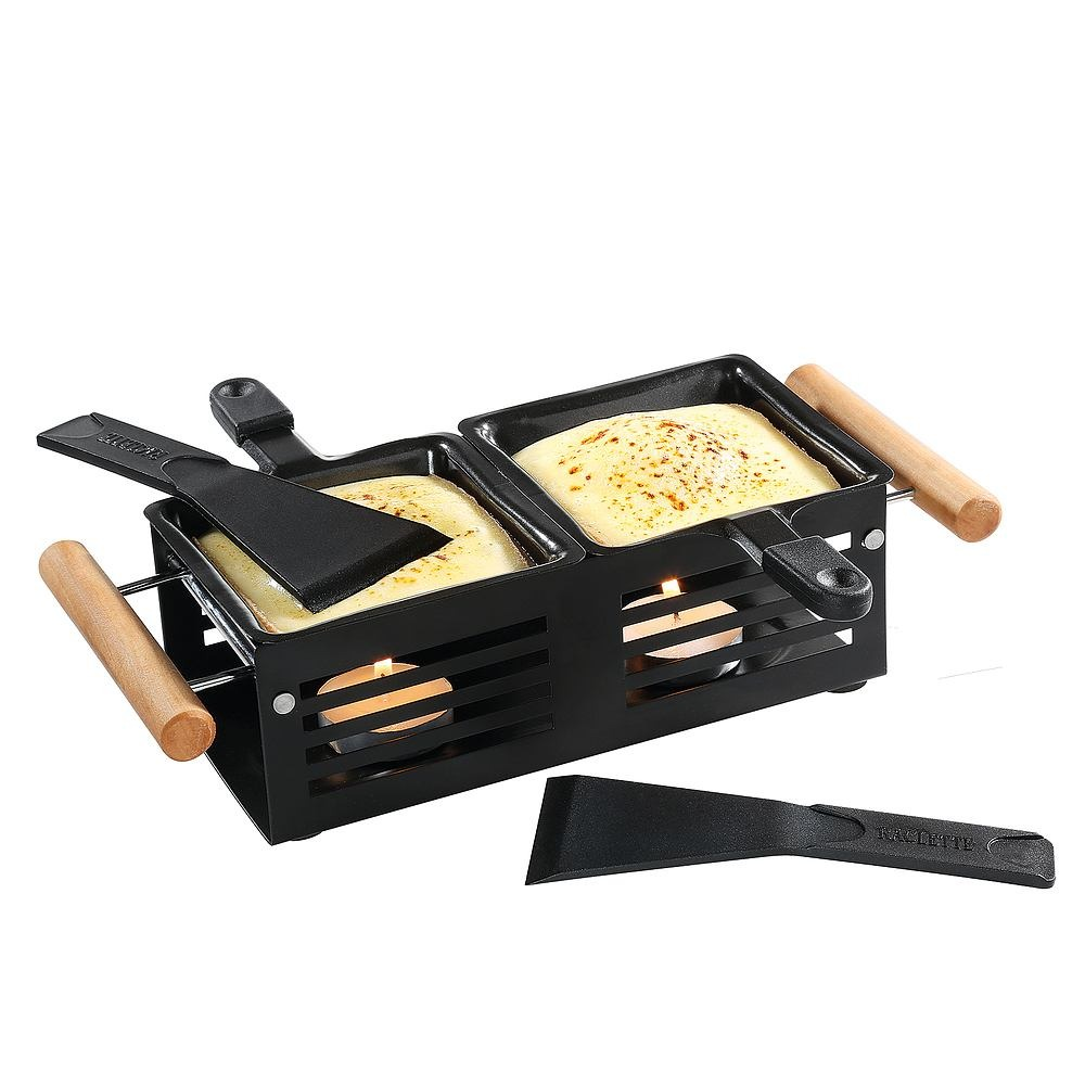 Image of Cilio mini raclette due - naczynie do zapiekania raclette metalowe