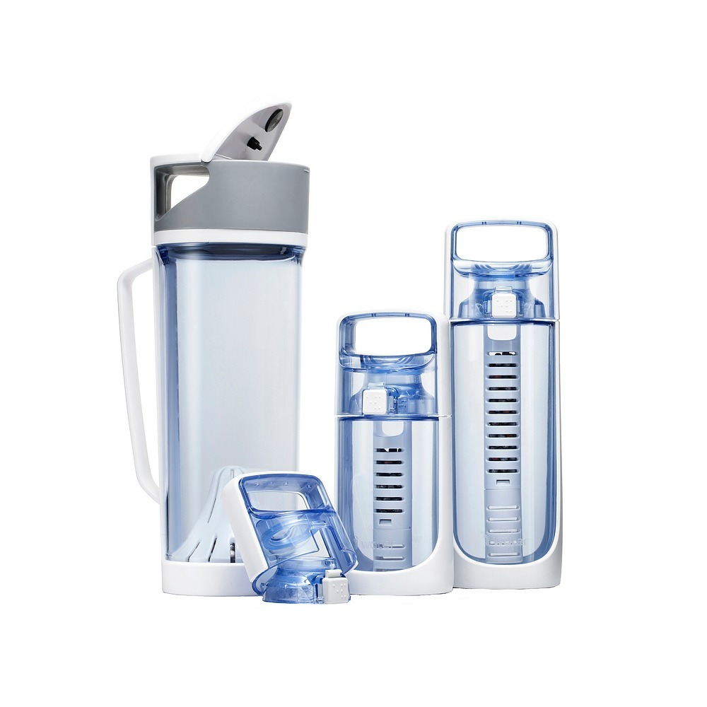 Image of Dzbanek filtrujący z butelkami z tritanu i-water 3w1