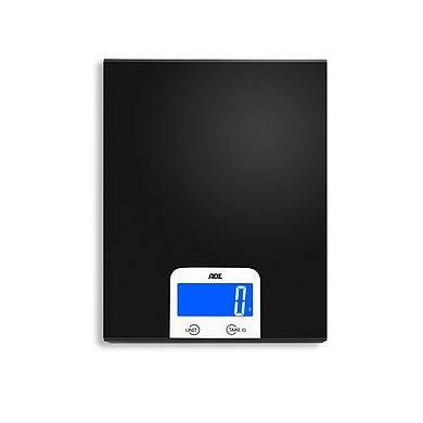 Image of Ade pezo czarna - waga kuchenna elektroniczna aluminiowa