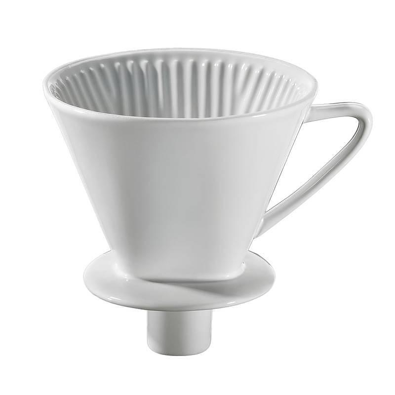 Image of Dripper / filtr porcelanowy do kawy roz. 4 cilio white