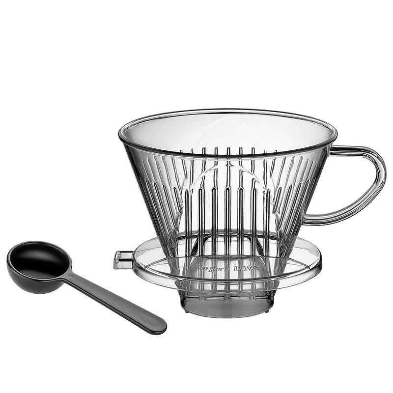 Image of Dripper / filtr do kawy akrylowy roz. 4 cilio