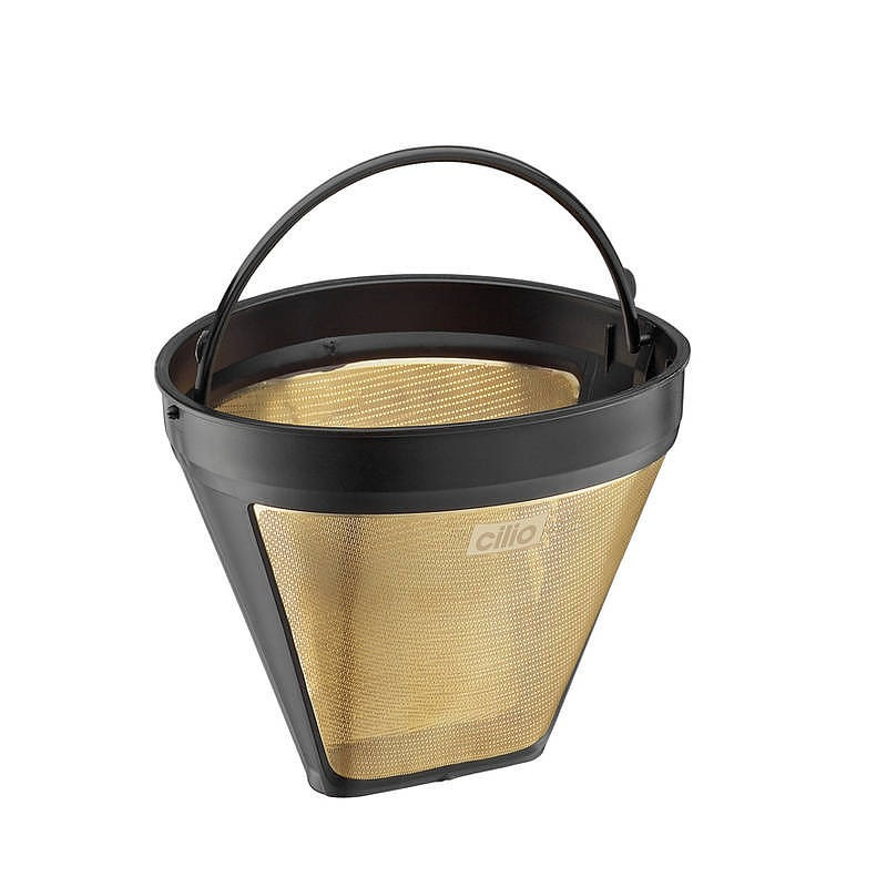 Image of Dripper / filtr do kawy plastikowy roz. 4 cilio gold