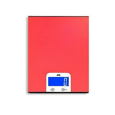 Image of Ade pezo czerwona - waga kuchenna elektroniczna aluminiowa