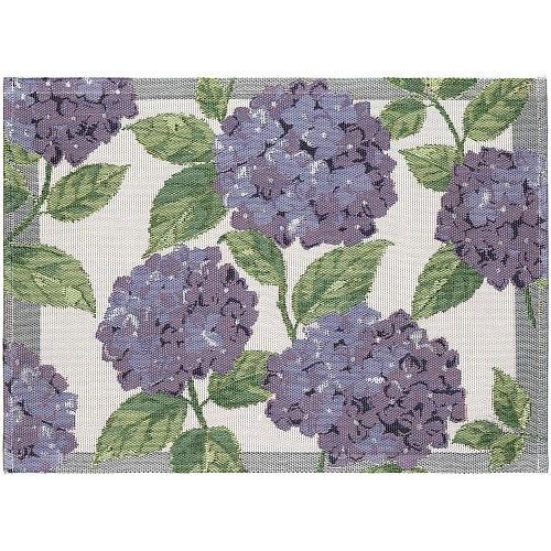 Image of Mata stołowa / podkładka bawełniana ekelund bla hortensia beżowa 35 x 48 cm