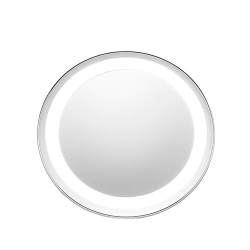 Image of Adler shine białe - lusterko kosmetyczne podświetlane szklane