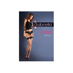Blue night gabriella pończochy + pas