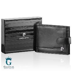 Mały portfel męski z zapięciem pierre cardin ys507.1 323a rfid